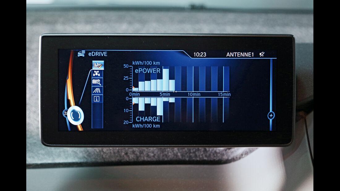 BMW i3, Anzeige, Monitor