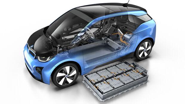 BMW i3 Batterie