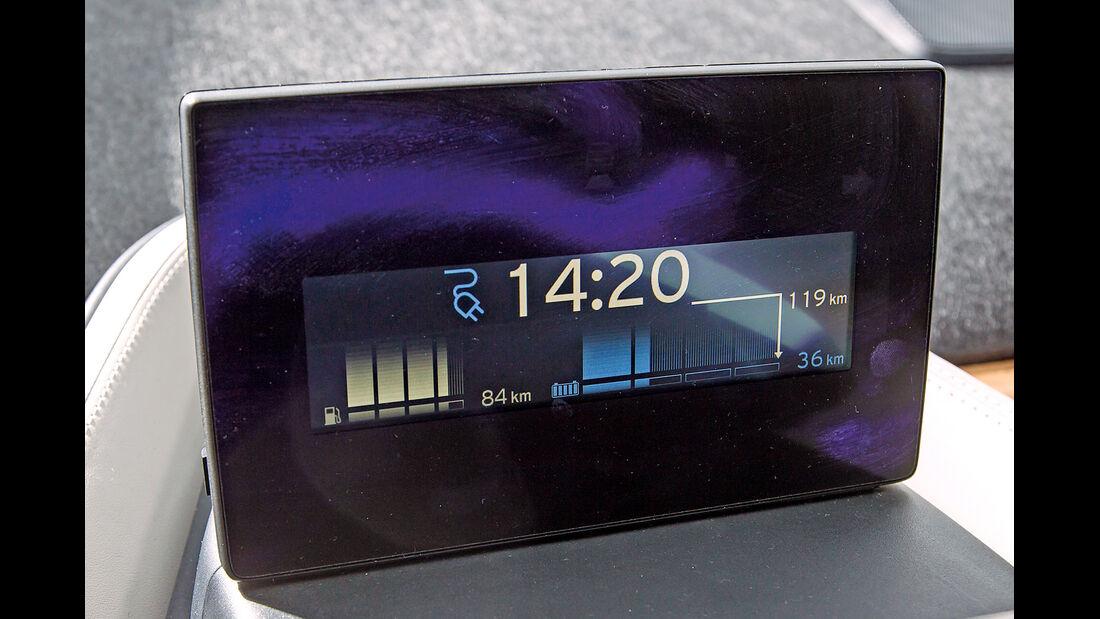 BMW i3, Bordcomputer, Infotainment