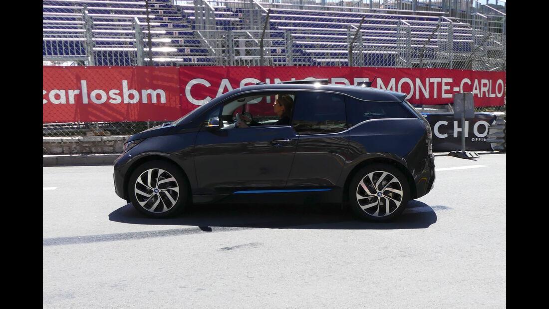 BMW i3 - Carspotting - GP Monaco 2016