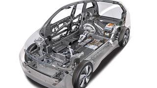 BMW i3, Chassis, Grafik