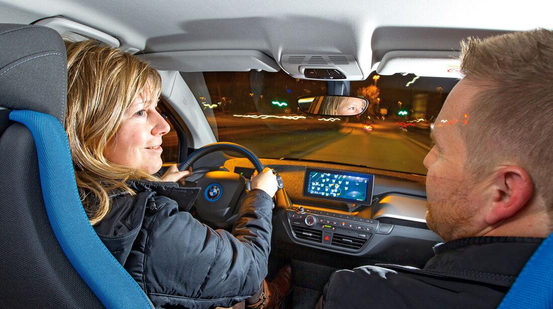 BMW i3, Cockpit, Fahrersicht