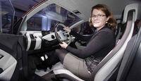 BMW i3 Concept Coupé, Sitzprobe L.A. Auto Show 2012