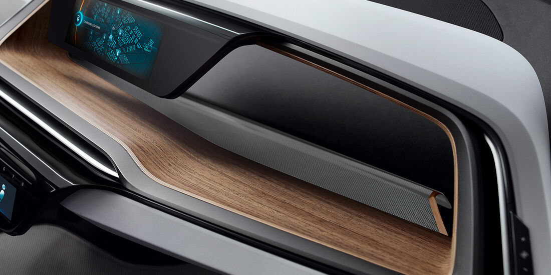 BMW i3 Concept, Innenraum
