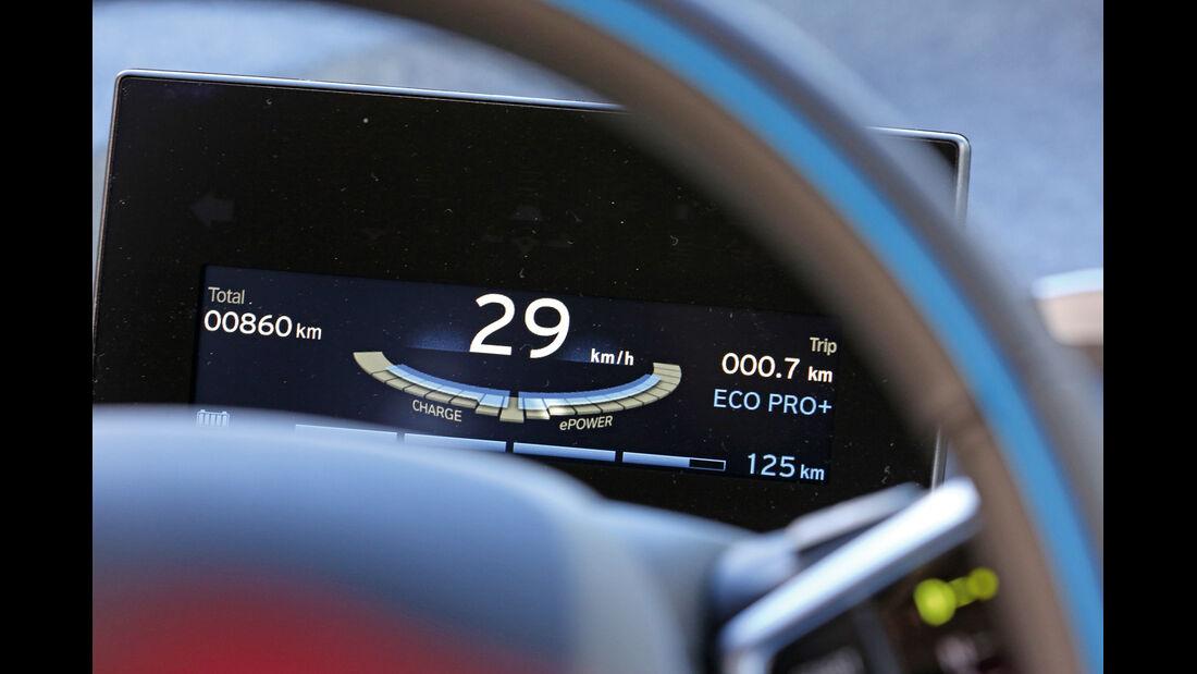 BMW i3, Display, Anzeige