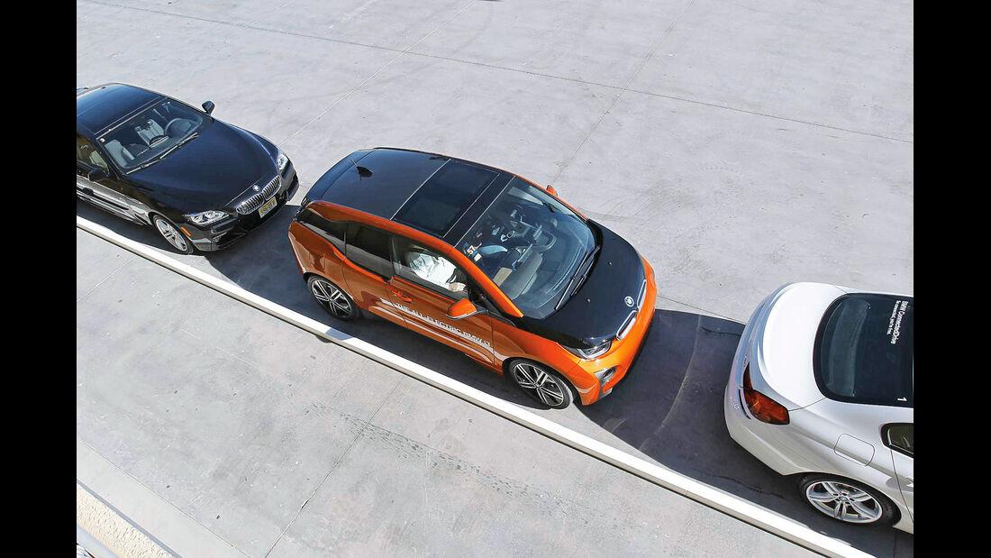 BMW i3, Einparken
