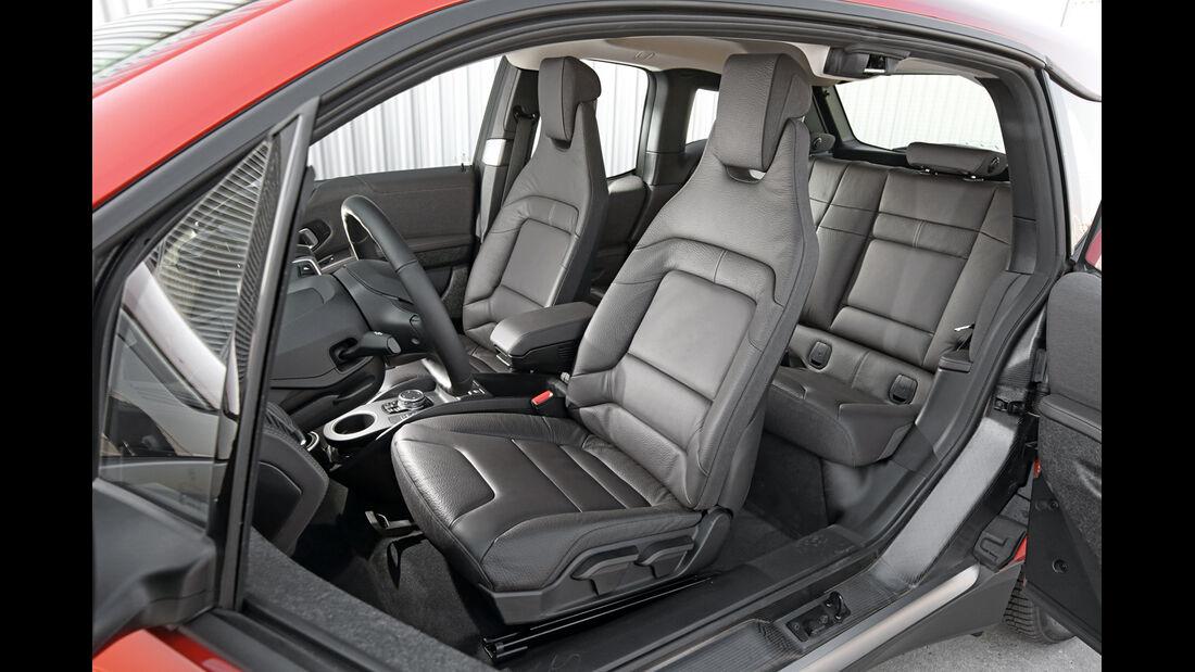 BMW i3, Fahrersitz