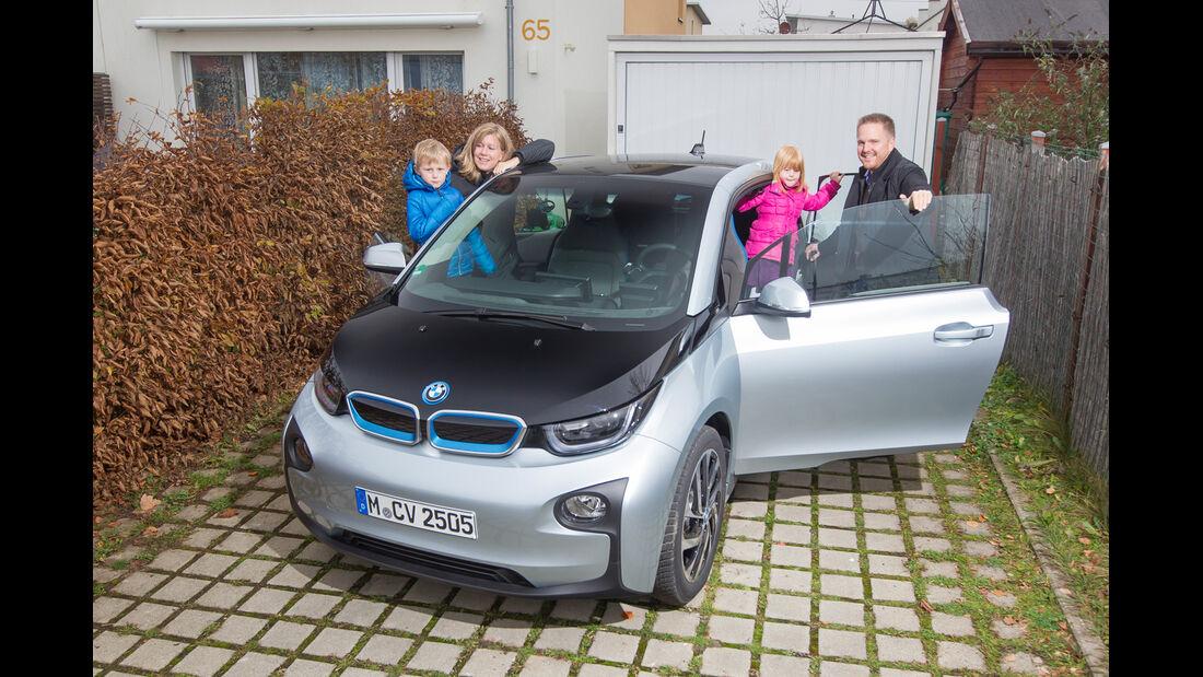 BMW i3, Frontansicht, Einsteigen