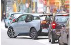 BMW i3, Heckansicht, Einparken