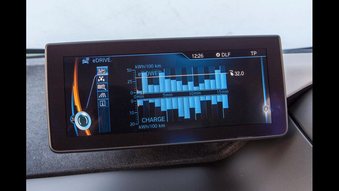 BMW i3, Infotainment, Monitor