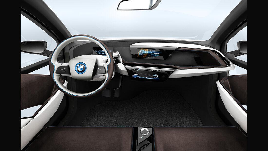 BMW i3, Innenraum