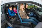 BMW i3, Interieur, Familie