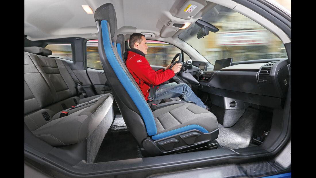 BMW i3, Interieur, Sitze