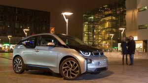 BMW i3, Kofferraum, Getränke