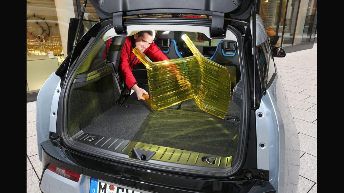 BMW i3, Kofferraum