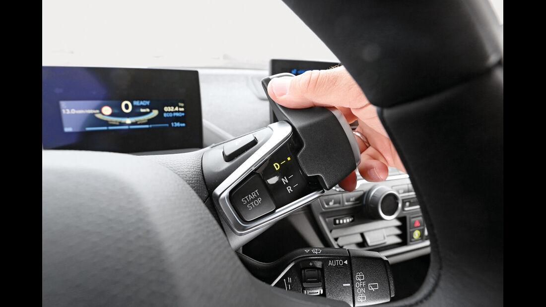 BMW i3, Lenkradschalter