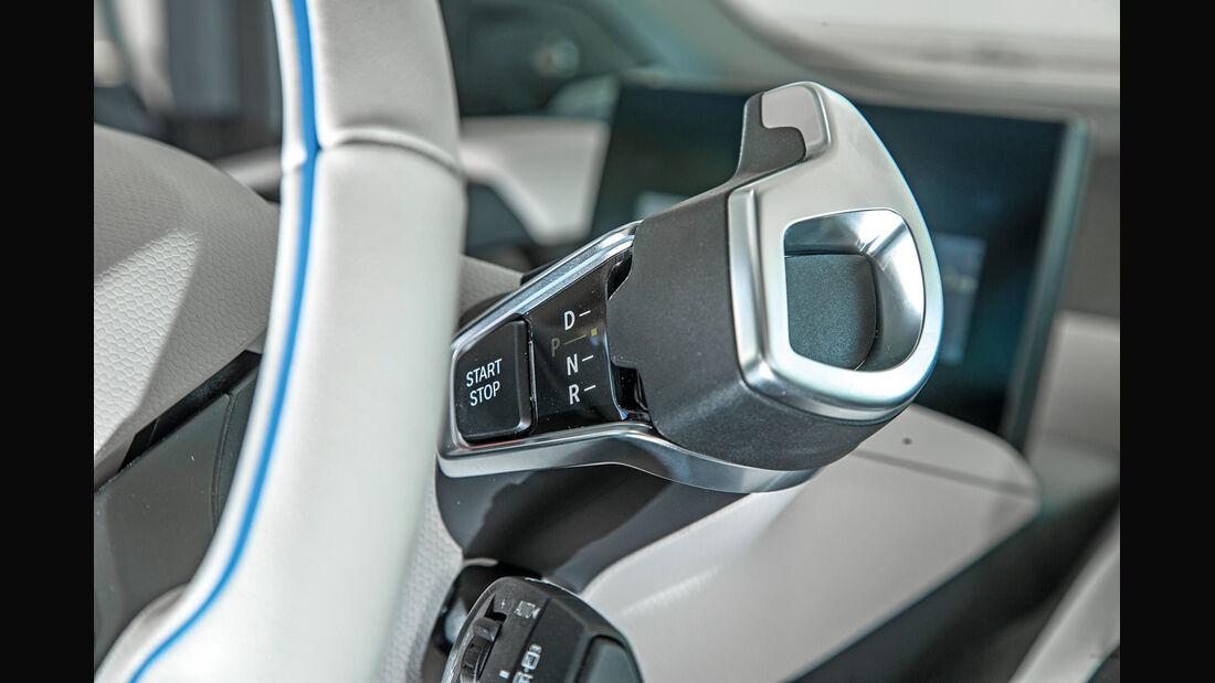 BMW i3, Lenkradschaltung