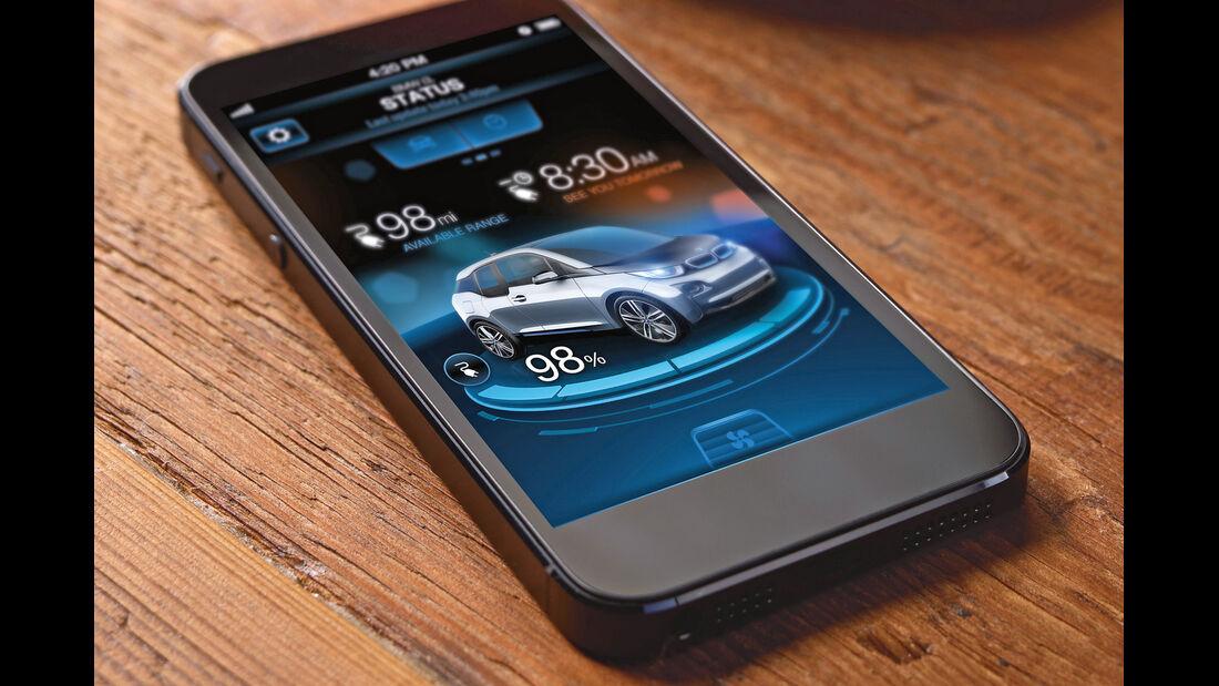 BMW i3, Mobile, App