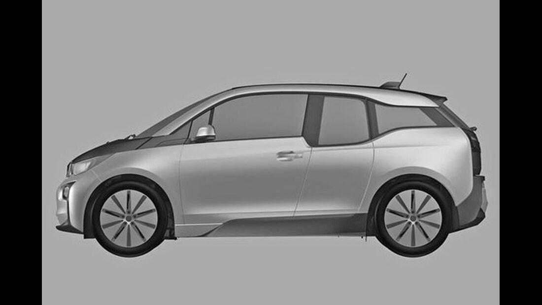 BMW i3 Patentamt Design-Bilder