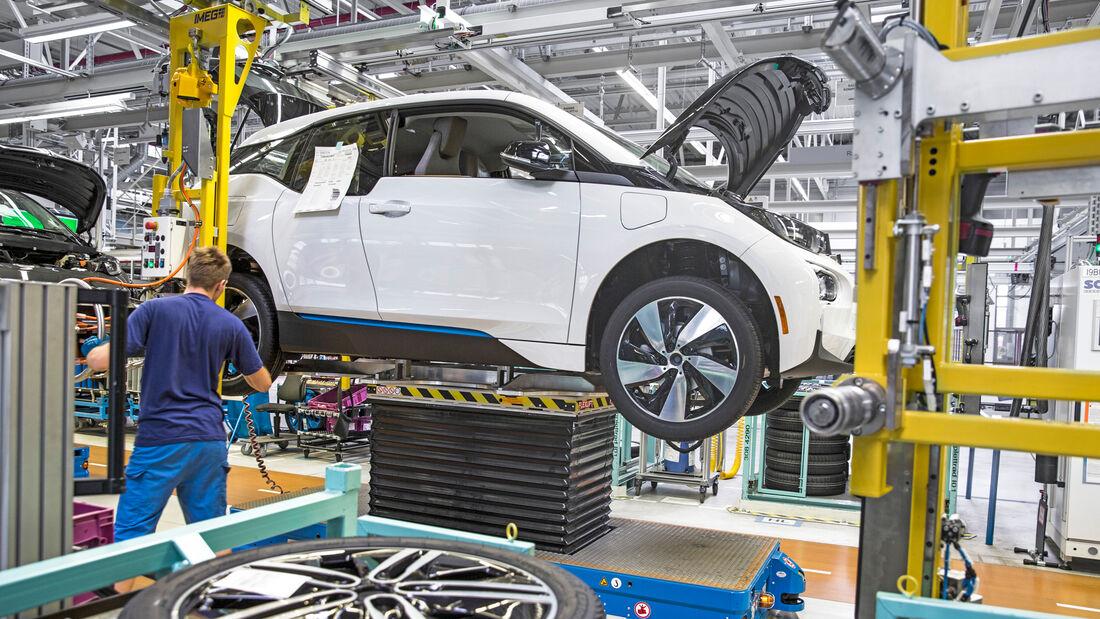 BMW i3 Produktion Leipzig 2019