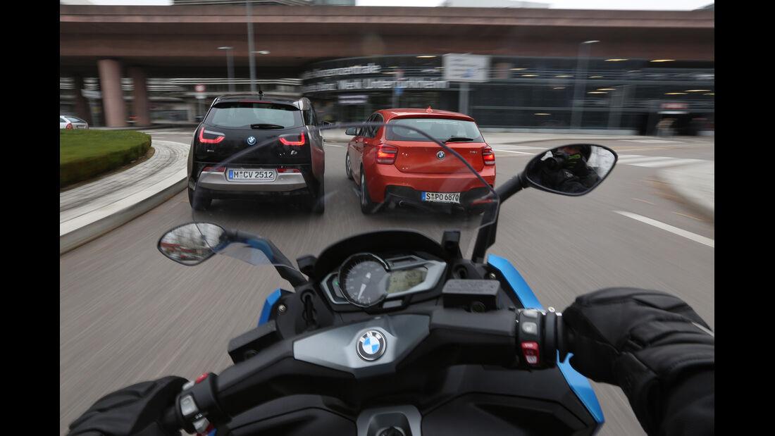 BMW i3 Range Extender, BMW C 600 Sport, BMW 118i, Heck
