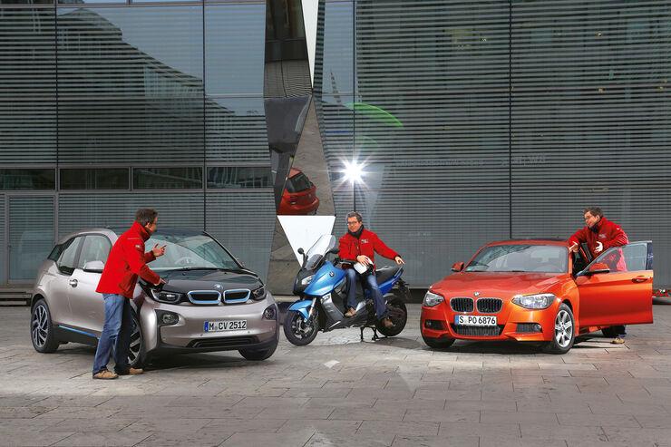 BMW i3 Range Extender, BMW C 600 Sport, BMW 118i