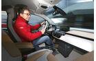 BMW i3 Range Extender, Cockpit, Fahrersicht