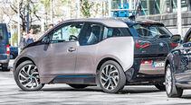BMW i3 Range Extender, Einparken