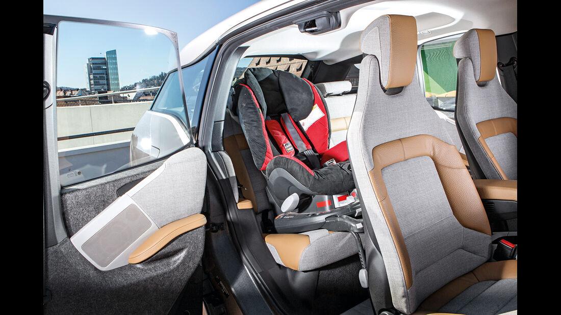 BMW i3 Range Extender, Fondsitz