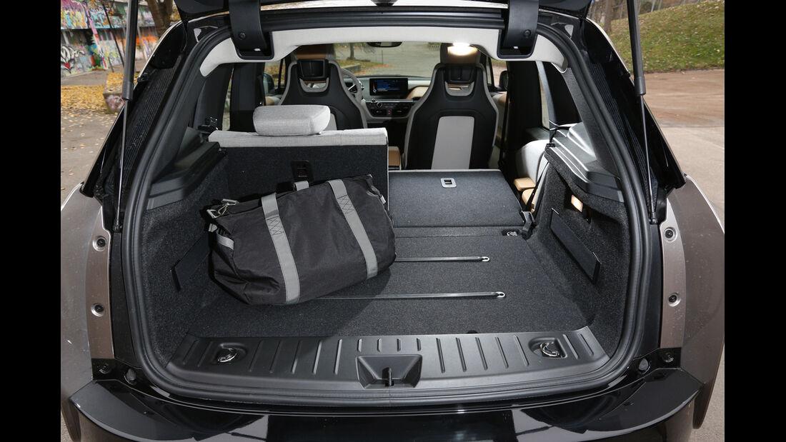 BMW i3 Range Extender, Ladefläche