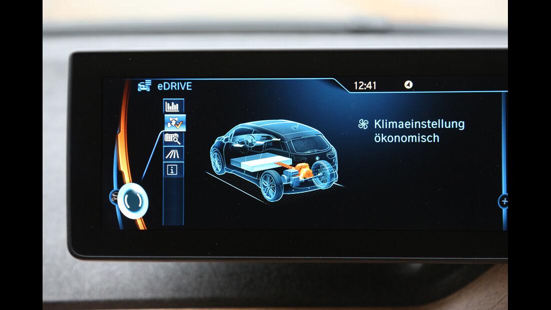 BMW i3 Range Extender, Monitor. Akku-Kapazität