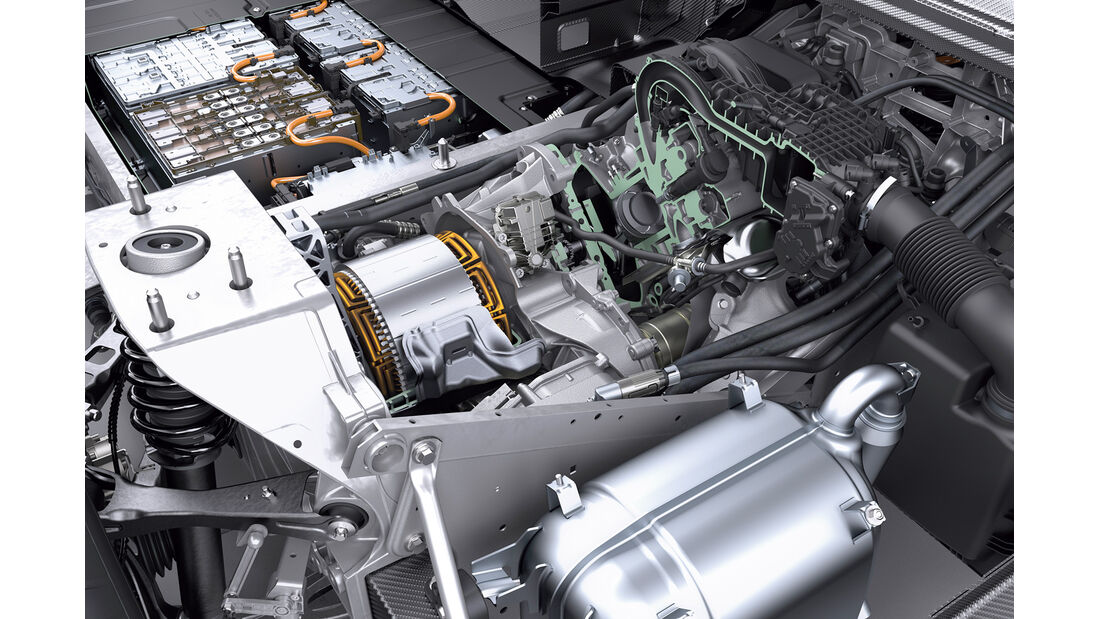 BMW i3 Range Extender, Motor, Technik