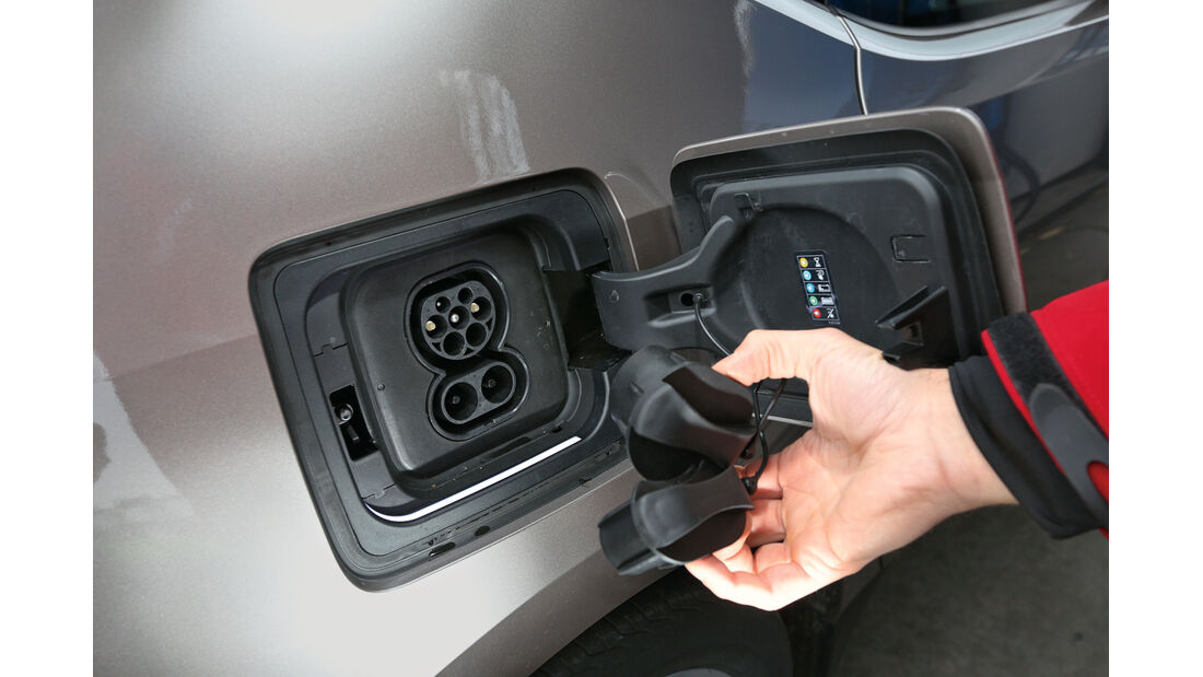 BMW i3 Range Extender, Strom, Tankdeckel