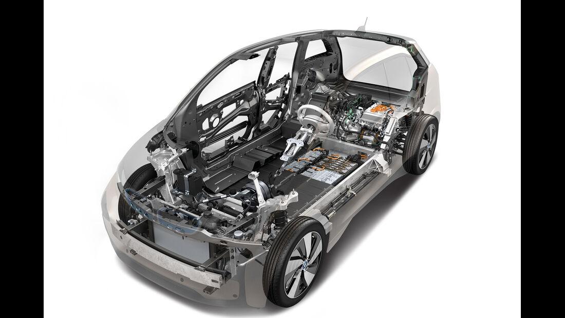BMW i3 Range Extender, Technik, Grafik