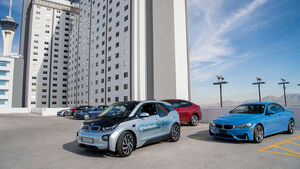 BMW i3 Remote Parking