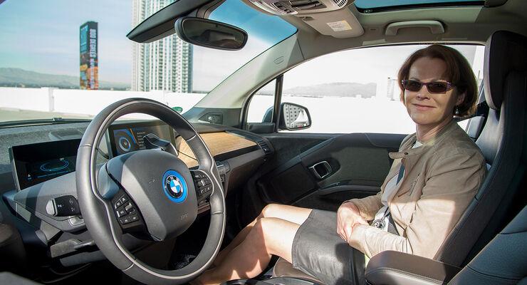 BMW i3 Remote Parking