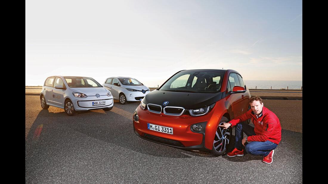 BMW i3, Rücksitz, Umklappen