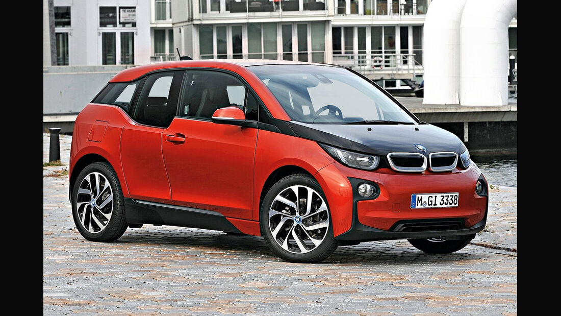 BMW i3, Seitenansicht