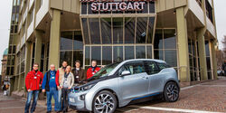 BMW i3, auto motor und sport-Leser, Gruppenbild