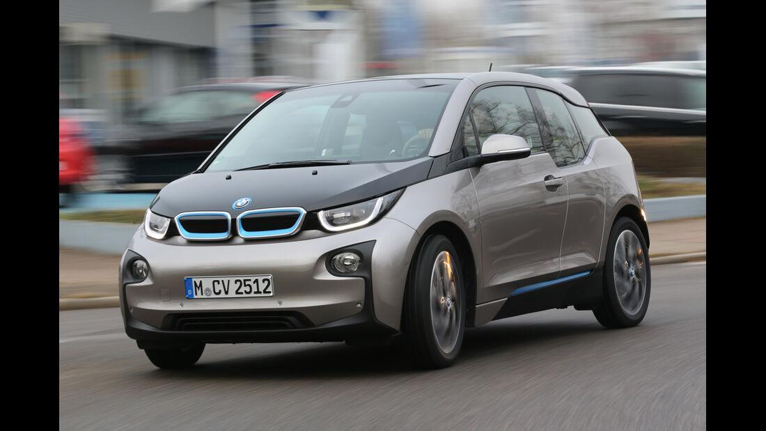 BMW i3 mit Range Extender, Frontansicht