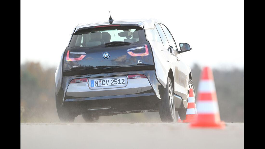 BMW i3 mit Range Extender, Heckansicht