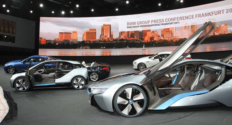 BMW i3 und i8 Concept