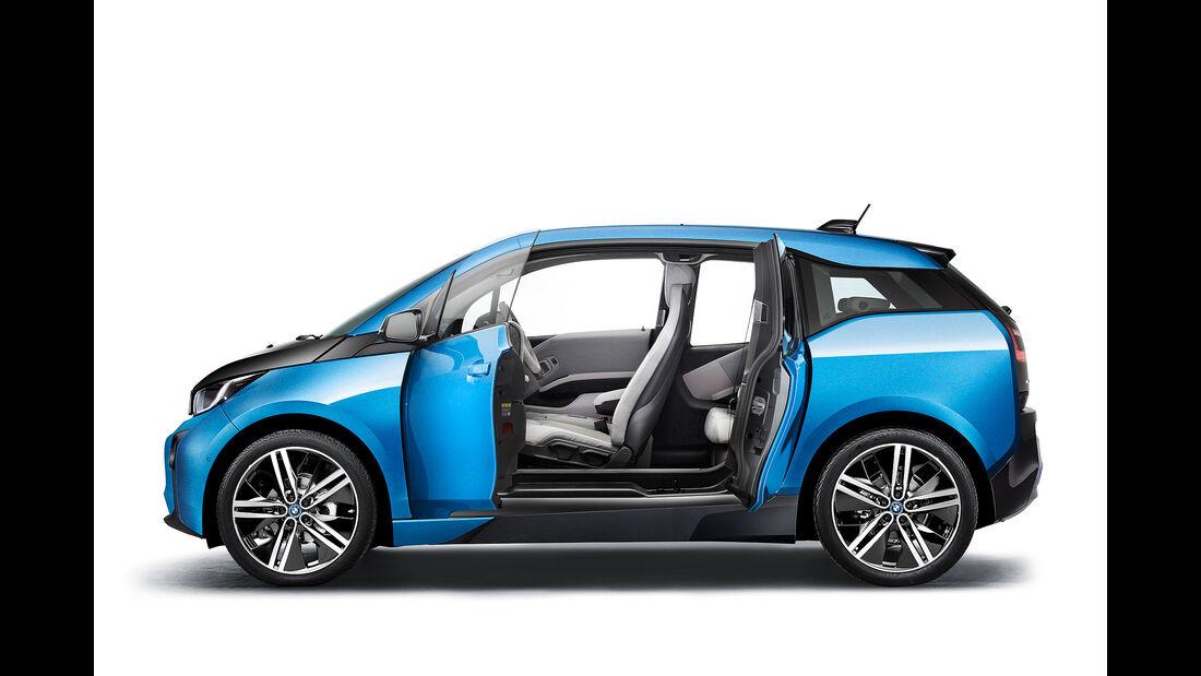BMW i3 update Facelift Sperrfrist 2.5. 2016 00.00 Uhr