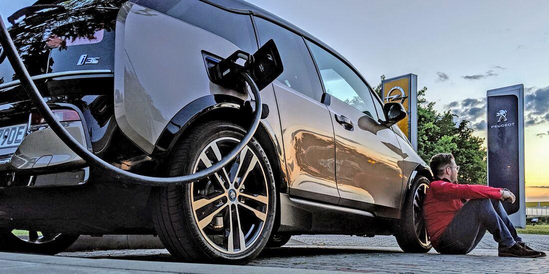 BMW i3S Langstreckenfahrt Aachen