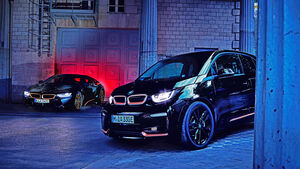 BMW i3s Edition RoadStyle, BMW i8 Coupé Ultimate Sophisto Edition (2019)