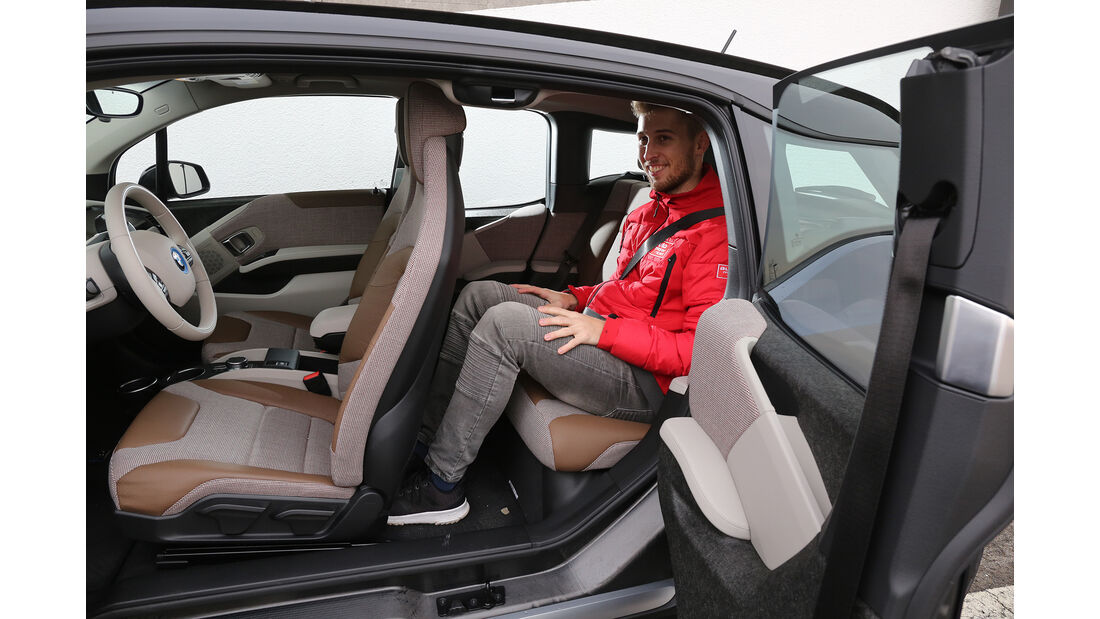 BMW i3s, Interieur, Fond
