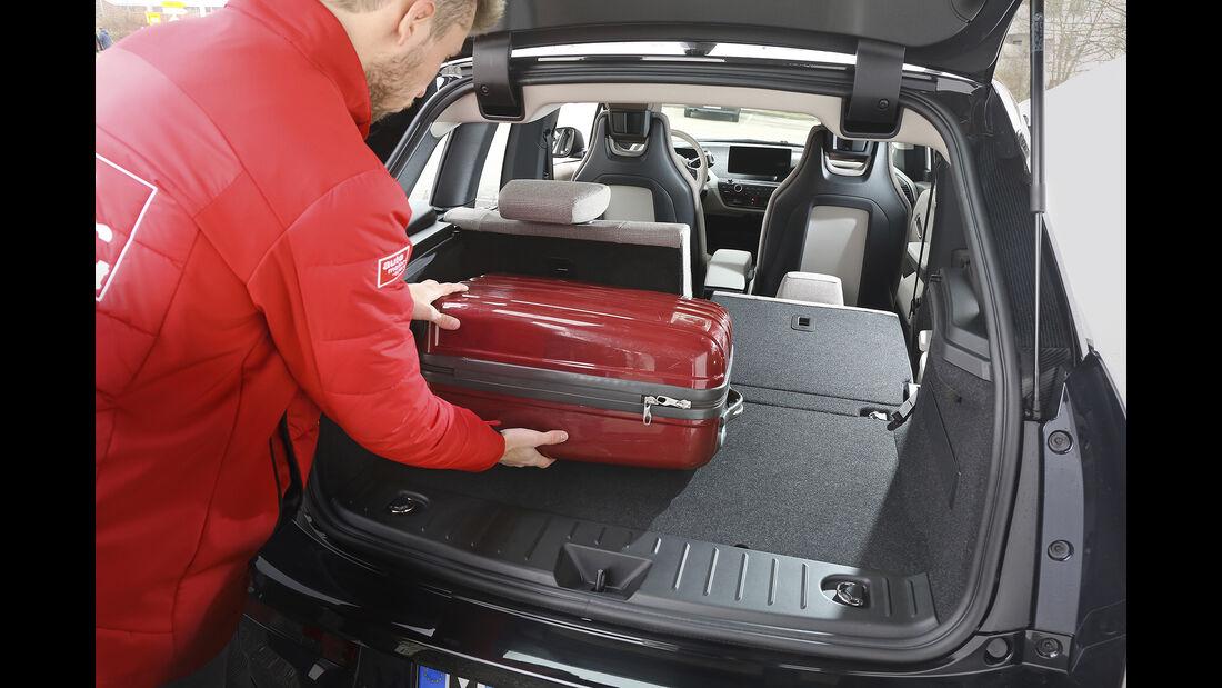 BMW i3s, Kofferraum
