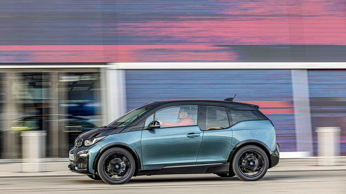 BMW i3s, Mini Cooper SE TRIM Xlams 0321 Vergleichstest