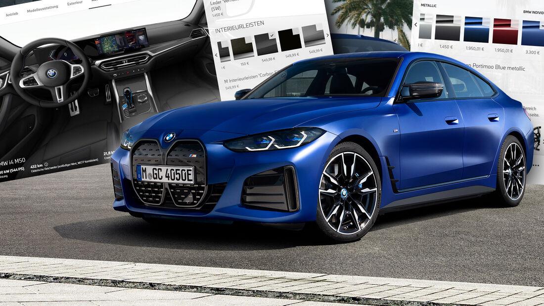 BMW i4 Konfigurator 2021
