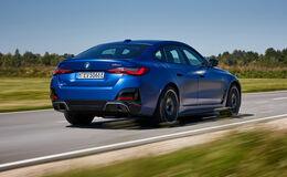 BMW i4 M50, Exterieur